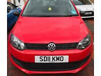 Volkswagen Polo S 60 5dr 1.2 petrol 2011 low mileage Full vw service history