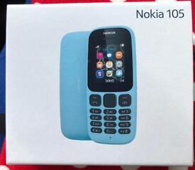 Brand New Nokia 105 Boxed