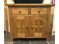 HALO Wentworth 2 Door Sideboard (Solid Oak)