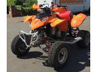 Road legal Polaris quad bike 500cc not Yamaha quadzilla