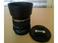 Opteka 85mm f/1.8 Mount Canon EF Bargain price