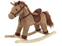 BRAND NEW - Chad Valley Corduroy Rocking Horse