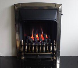 Valor Dream Slimline Slider Control 3.4 KW Inset Gas Fire (Pale Gold)