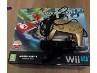 Wii U Mario kart edition complete