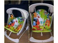 Fisherprice baby swing chair