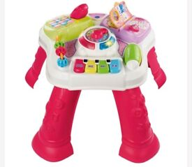 Cheap VTech Activity Table PINK, £9 good condition