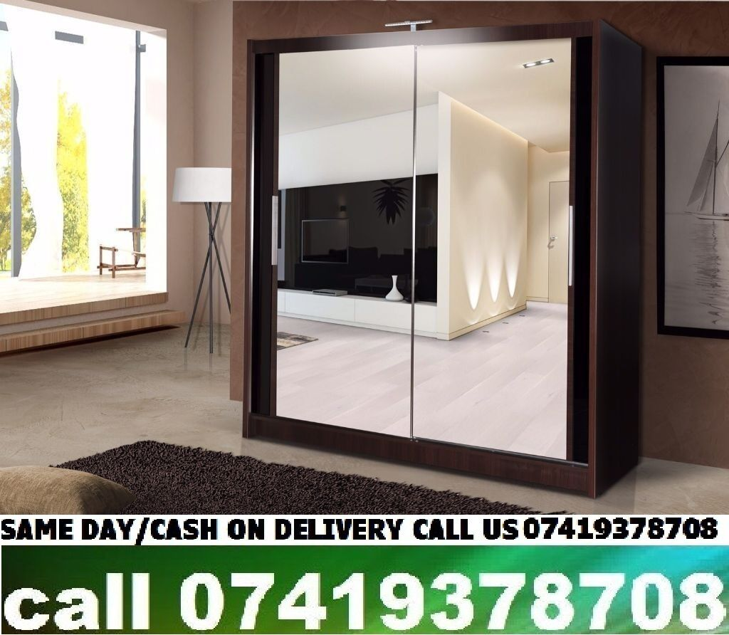 Akira C Black S~H~I~C~A~G~O Sliding Door Wardrobin Shepherds Bush, LondonGumtree - SPECIFICATIONS Multiple storage shelves and hanging rail Variety of colours and sizes Includes full instructions and tools for home assembly Professional assembly service available at Wardrobxtrcost DIMENSIONS Height 215cm Depth 61cm Width 120cm /...