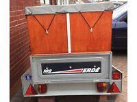 ERDE 102 camping trailer ++reduced++