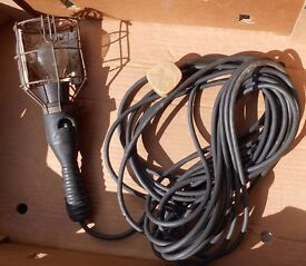 Worklight on extension cable
