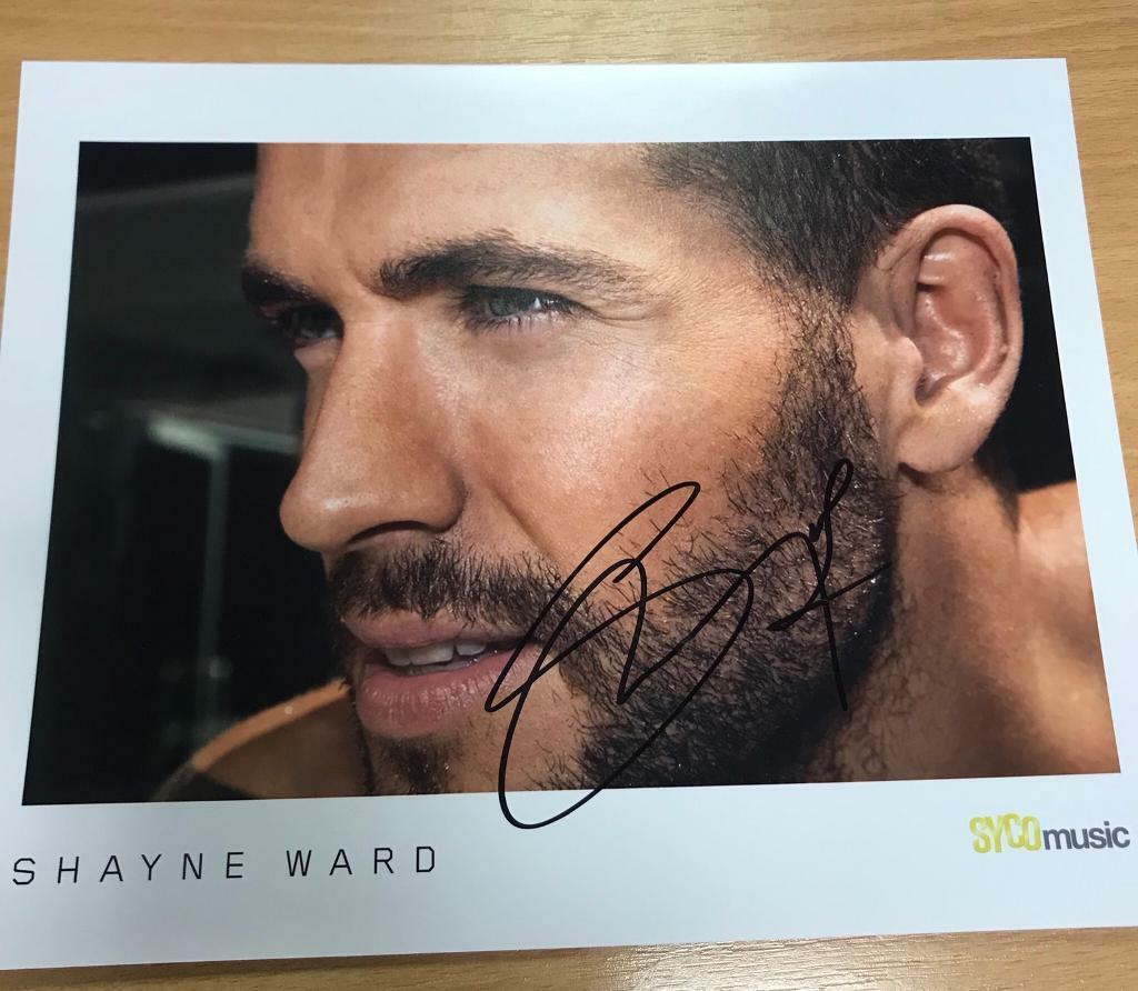 Shayne Ward Autograph / Signed Photograph