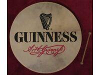 "18"" Waltons Irish Guinness Bodhran"