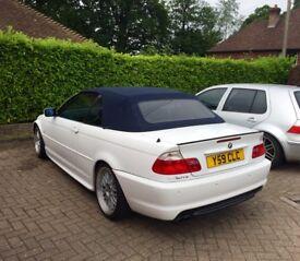 White e46 325ci