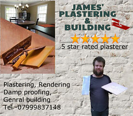 James' Plastering & Building,20 Years Experience in Plastering and Building, DampProofing