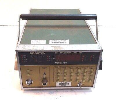 Boonton 4200 Rf Micro Wattmeter