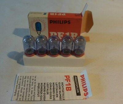 C56 5 Anciennes lampes Philips PF1B