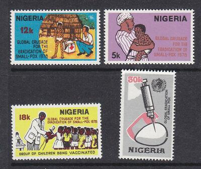 Nigeria 1978 Smallpox Eradication set  MNH