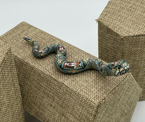BABY FIMO RATTLESNAKE! - ORDER NOW FOR CHRISTMAS! - IN STOCK & READY TO SHIP!