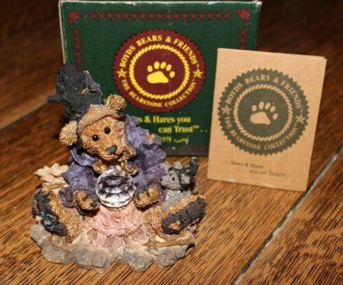 Boyds Bears Bearstone Wilson...The Wonderful Wizard of Wuz 1E/982 Retired
