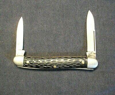 Vintage Keen Kutter FOLDING POCKET KNIFE two blade UNCLEANED