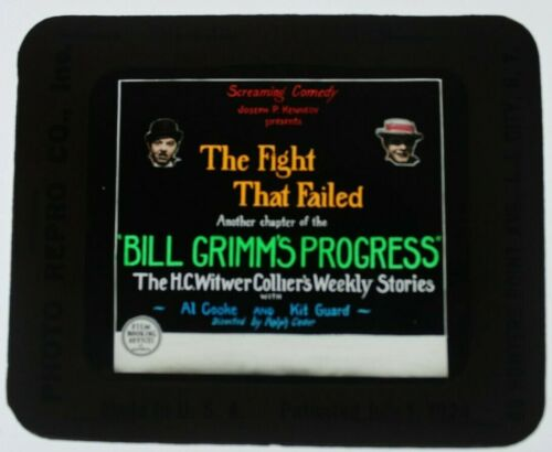 The Flight That Failed 1926 glass slide - All Cooke - free shipping
