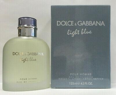 Dolce & Gabbana Light Blue Eau De Toilette 4.2 oz / 125 ml For Men (Dolce & Gabbana For Men)