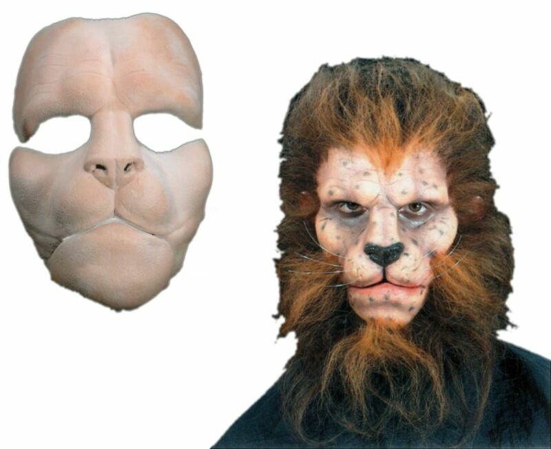 Lion Mask Foam Latex Prosthetic