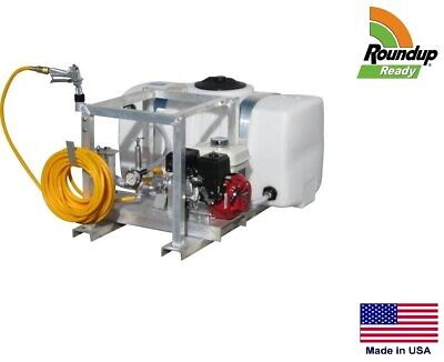 Sprayer Commercial - Skid Mounted - 7 Gpm - 150 Psi - 50 Gallon - Roundup Ready