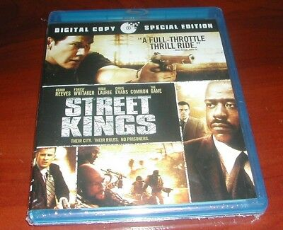 Street Kings Blu Ray Dvd Keanu Reeves Forest Whitaker New