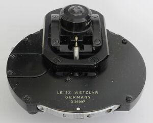Leitz-Microscope-Flip-Phase-Dark-field-Condenser-0-90-Orthoplan-Ortholux-Phaco