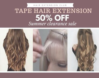 Hair extensions Packages