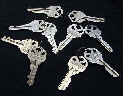 5 Pair Original  Precut  Kwikset Kw-1 Keys. Locksmith. Free Shipping