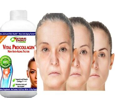 2 Vital Procollagen 16.9 fl oz. Natural Energy NEW LABEL original Natural energy 5