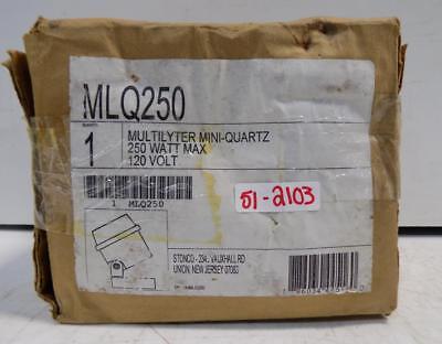 Stonco 250w 120v Multilyter Mini-quartz Light Mlq250 Nib