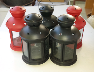 5x metal lanterns Edwardstown Marion Area Preview