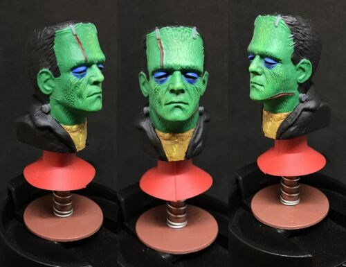Universal Monsters Custom Made Collector Piece AHI Frankenstein Popper Toy RETRO