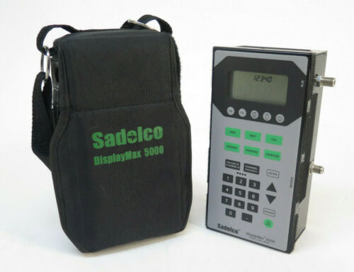 Sadelco DisplayMax 5000 Signal Level Meter Options 01, 02, 03, 04