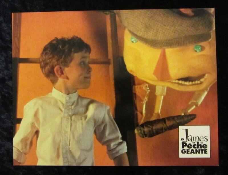 JAMES AND THE GIANT PEACH lobby card  #11 ROALD DAHL (1996) DISNEY