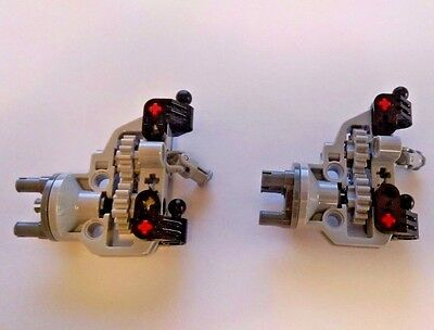 LEGO Technic 2x Steering Portal, with hub, gear, supports - new genuine parts - Lego Gear Set