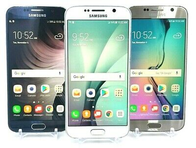 Samsung Galaxy S6 - 32GB/64GB - Verizon / AT&T / T-mobile -Excellent/Acceptable
