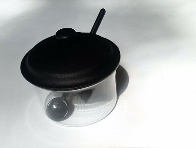 Bodum Brazil Sugar Bowl  W Spoon  Euc