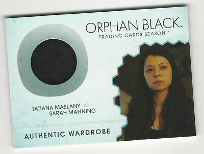 Tatiana Maslany as Sarah Manning ORPHAN BLACK Season 1 Costume Wardrobe Card M05