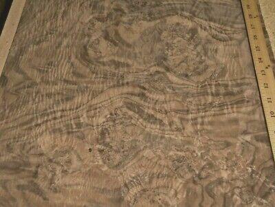 Walnut Burl Wood Veneer 18 X 17 Raw Veneer No Back Aaa Quality Grade 142