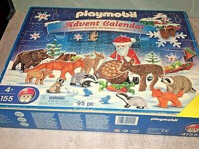 Playmobil 4155 Christmas in the forest Advent Calendar Set 2007 XMas Santa