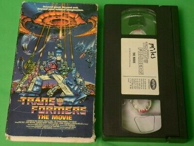 Transformers The Movies 1987 Used 1999 VHS Animated