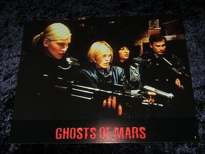 GHOSTS OF MARS Lobby Cards JOHN CARPENETER, JASON STATHAM French Set of 8 stills
