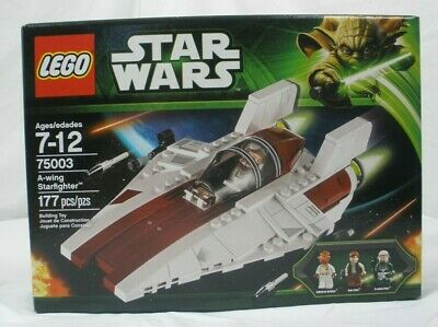 LEGO Star Wars A-wing Starfighter, New In Box (75003)