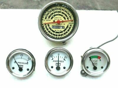Minneapolis Moline Tractor Tachometer And Gauge Kit Fit- Early M670 Gasdiesel
