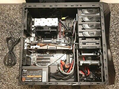 Custom Gaming Desktop PC 6 Core AMD FX-6300 2TB 240GB SSD R9 280 750W Windows 10
