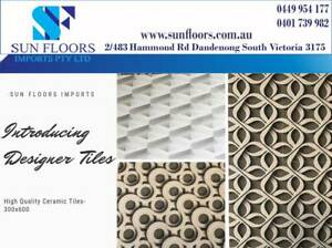 Ceramic Designer Wall Tiles from $13.90- CLEARANCE SALE Ardeer Brimbank Area Preview