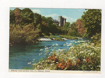 Kilkenny Castle & River Nore Ireland 1974 Postcard 986a